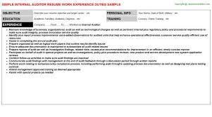 auditor resume resume professional auditor resume templates to