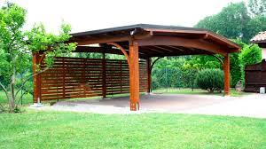tettoia legno auto tettoia per posto auto in legno arco proverbio outdoor design