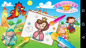 princess coloring book coloring games girls android apps