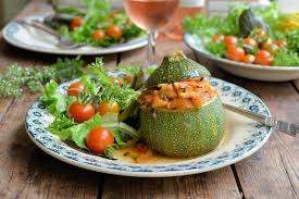 cuisin courgette stuffed courgette recipe great chefs