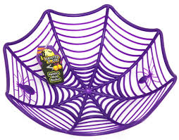 party city halloween window clings plastic spider web cobweb bowl halloween table party decoration
