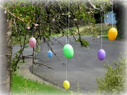 Easter Decorations Outside DMA Homes