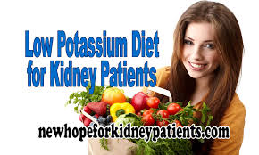low potassium diet for kidney patients to manage potassium levels