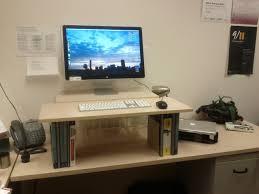 Adjustable Standing Desk Ikea by Computer Desk Homemade Idea Trends With Images About Diy Desks