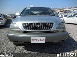 lexus used car auction used toyota harrier from japan car exporter 1110521 giveucar