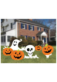 wooden halloween yard decorations