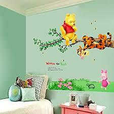 Winnie The Pooh Wall Decals For Nursery Winnie The Pooh Tigger Tree Wall Decals Vinyl Mural