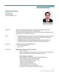 Civil Engineer Resume Sample Pdf Sample Cv Civil Engineer Qa Qc Engineer Qatar