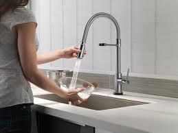 kitchen touch faucets touchless kitchen faucet delta faucet ideas