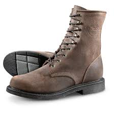 justin men u0027s dark mountain lace up work boots 640710 work boots