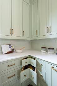 Kitchens With Green Cabinets by See The Spring Hues In This Charming Victorian Kitchen Hgtv U0027s