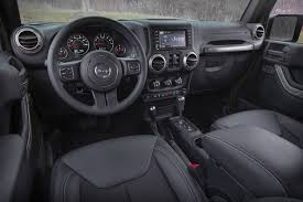 jeep wrangler unlimited interior 2017 jeep wrangler unlimited sahara ready for malls trails