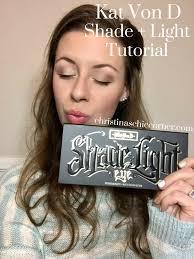 kat von d shade and light eye looks kat von d shade light eyeshadow palette tutorial