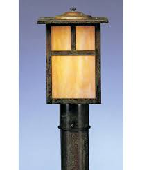 Outdoor Electric Post Lights by Arroyo Craftsman Mp 7 Mission 7 Inch Wide 1 Light Outdoor Post