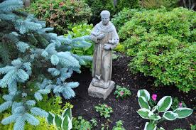 st francis garden statue home outdoor decoration