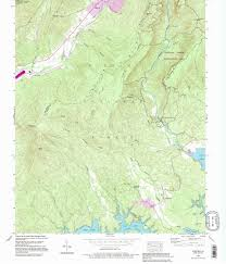 Table Rock Lake Map Linville Gorge Wilderness