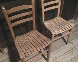 Straight Back Chairs Straight Back Chair Etsy
