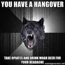 Hangover Meme - hangover meme fit for fun