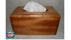 kleenex tissue box cover solid mahogany 0502201604
