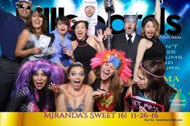 party photo booth photo booth miranda s sweet 16 birthday party sweet dreams