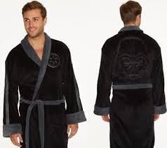 robe de chambre wars wars darth vader embossed fleece bathrobe black s dressing