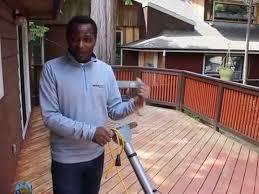 werkmaster sandpaperless wood deck paint u0026 stain removal system