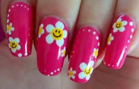 imagenes de uñas pintadas pequeñas diseños de uñas con flores uñasdecoradas club