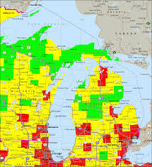 Michigan Maps Air Quality Map