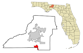 Sinkholes In Florida Map by Woodville Florida Wikipedia