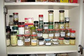 How To Organize Your Kitchen Pantry - how to organize your spices