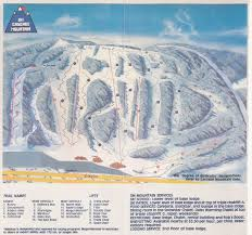 Cascade Mountains Map Cascade Mountain Skimap Org