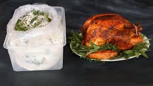 how brine a turkey spiced buttermilk brined turkey
