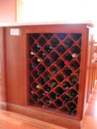diagonal wine racks finish carpentry contractor talk