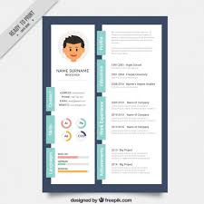 Creative Resumes Templates Free Designer Creative Resume Template Vector Premium