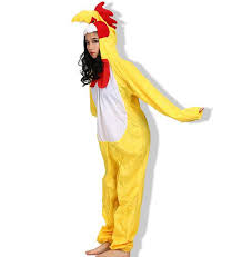 Rooster Halloween Costume 2017 Lucky Rooster Onesie Jumpsuit Animal Cosplay Costume