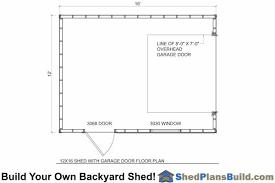 shed floor plans 12x16 garage storage shed plans