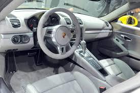 Porsche Cayman Interior New Porsche Cayman S Gray Interior Live From Los Angeles