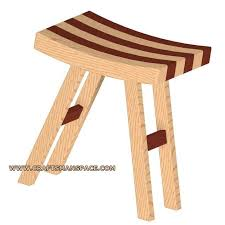 Woodworking Stool Plans For Free by Stool Plan