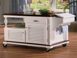 Kitchen Island With Wheels Cool Kitchen Islands On Wheels With Contemporary