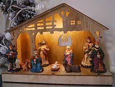 light up christmas scene ebay