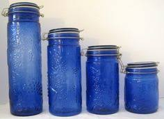 shop for ceramic mason jar canister set set of 4 get free