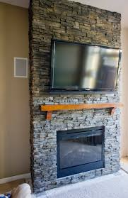 ideas stack stone fireplaces stacked stone fireplace stone