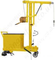 floor ls with extended arm manual or powered 360 degree slew pivoting arm rigid arm
