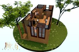very small house floor plans tiny house floor plans brookside 3d plan 1 by dave5264 on small
