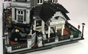 sitcom house floor plans lego ideas spotlight the addams family mansion the nerd recites