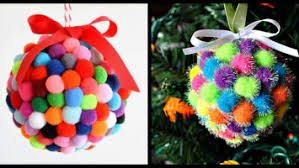 pom pom ornaments archives gotta diy