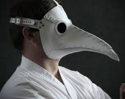 plague doctor s mask plague doctor s mask in brownish leather classic