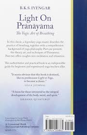 light on pranayama the yogic art of breathing amazon co uk