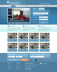 Real Estate Web Design Templates by Real Estate Website Template Psd For Free Download Freebie No 47