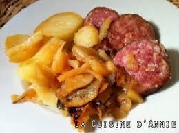 cuisiner saucisse de morteau recette saucisse de morteau aux pommes de terre la cuisine